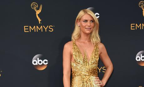 Claire Danes at the 2016 Emmys