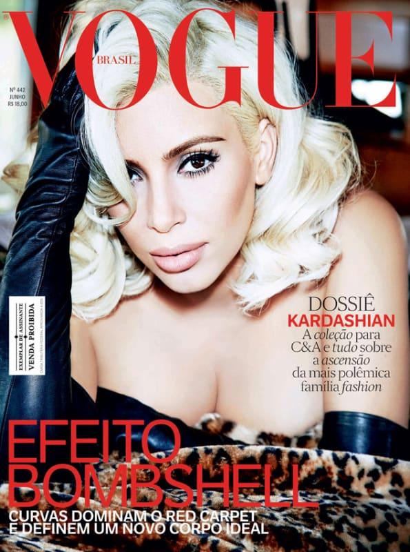 Kim Kardashian as Marilyn Monroe