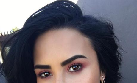 Demi Lovato Goes Glam