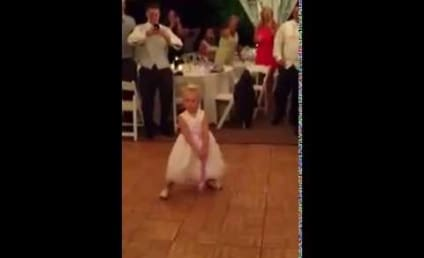 Little Girl Dances Up a Storm at Wedding, Goes Viral