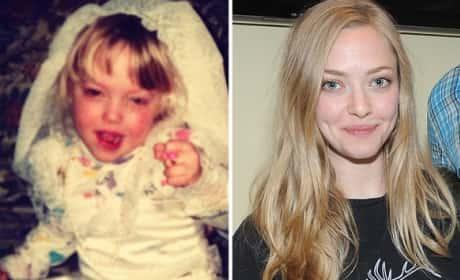 Amanda Seyfried as a Kid