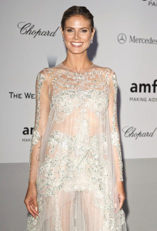 Heidi Klum in Cannes