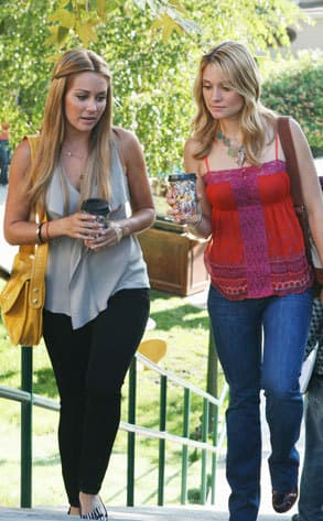 Lauren Conrad Goes Greek