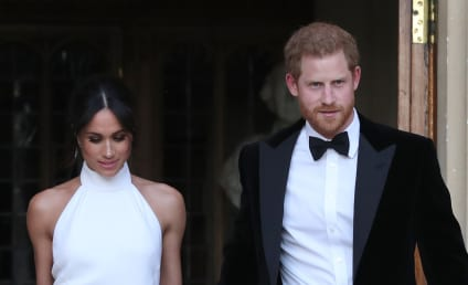 Meghan Markle Stuns (And We Mean STUNS!) in Wedding Reception Dress