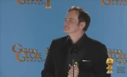 Quentin Tarantino Drops N-Word at Golden Globes Press Conference