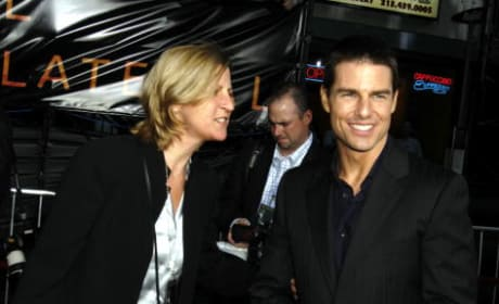 Lee Anne De Vette and Tom Cruise
