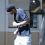 Ashton Kutchers Leaves AM/PM in LA