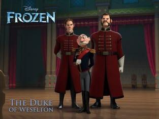 Alan Tudyk as The Duke of Weselton in Frozen
