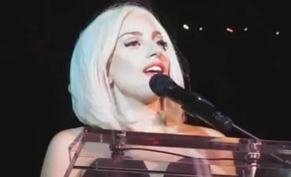 Lady Gaga Sings National Anthem at Gay Pride Parade