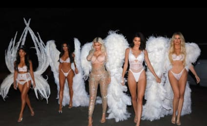 Kardashians Wear Lingerie for Halloween: Who Looked Hottest?!