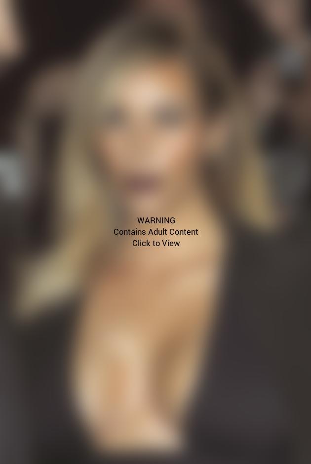 Big Kim Kardashian Breasts