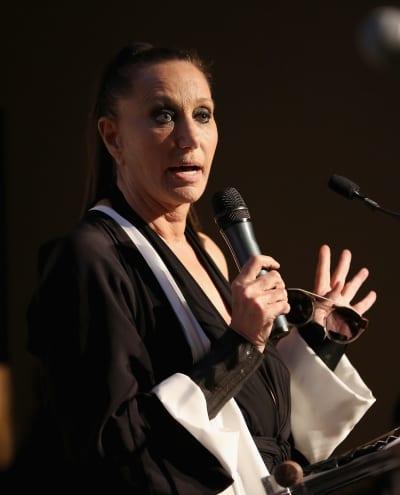 Donna Karan at the Podium