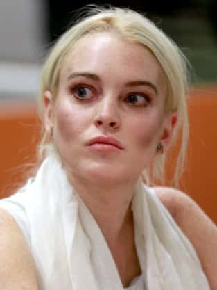 Lindsay Lohan is a Ghost