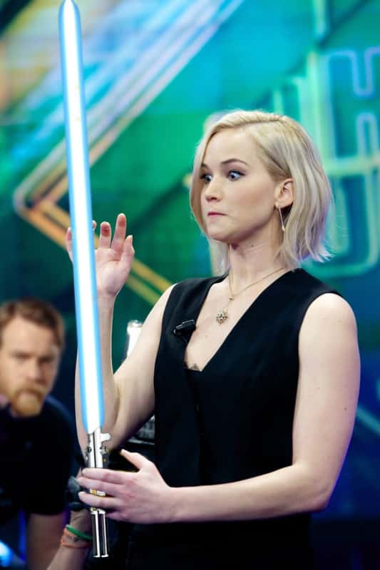 Jen Uses the Force