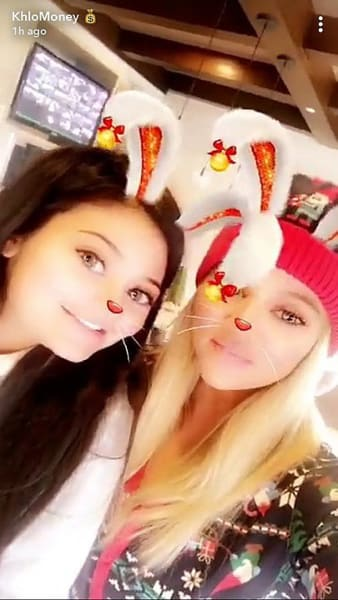 Kylie Jenner and Khloe Kardashian, Christmas Bunnies