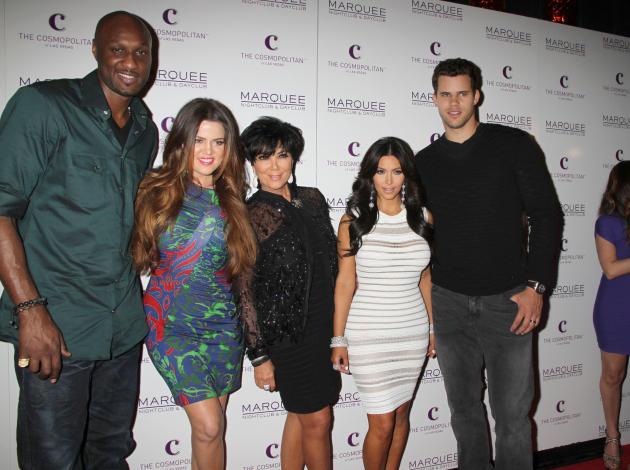 Lamar Odom, Kris Humphries, Kardashians