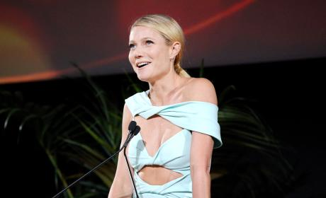 Gwyneth Paltrow Speaks At The 25th Annual EMA Awards
