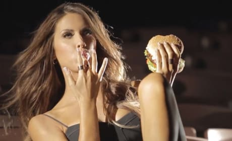 Katherine Webb for Carl's Jr.