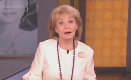Barbara Walters Says Goodbye: Enjoy The View, Folks
