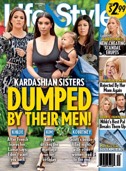 Kim, Khloe and Kourtney Kardashian: Dumped!