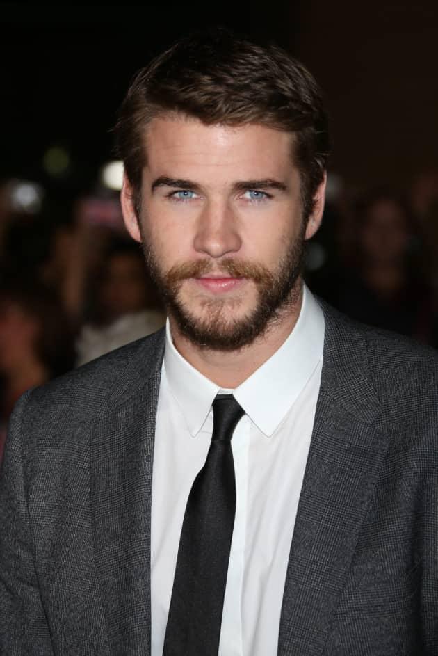Liam Hemsworth with a Beard