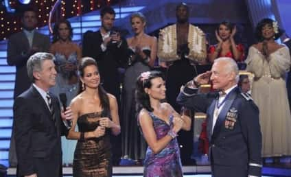 Buzz Aldrin Lifted Off Dancing with the Stars