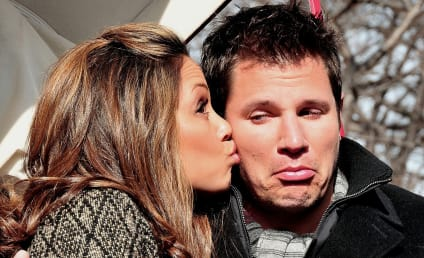 Nick Lachey, Vanessa Minnillo Hit the Big Apple