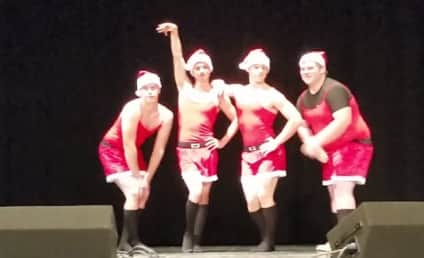 Brave Boys Make Like Mean Girls for High School Talent Show