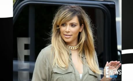 Kim Kardashian Goes Blonde!