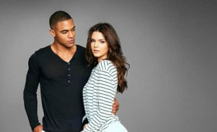 Kendall Jenner Models on Behalf of Brother's Sock Line