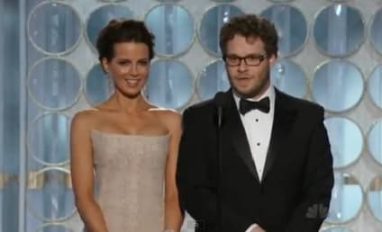 "Golden Globe Moment of the Night: Seth Rogen's ""Massive Erection"""