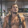 Colton underwood works out shirtless