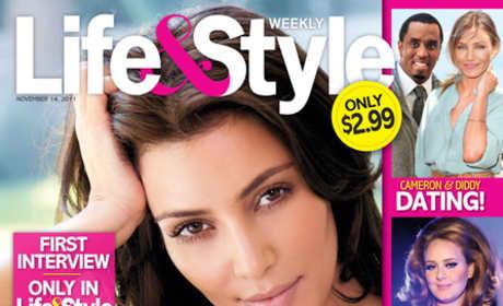 Kim Kardashian Life & Style Cover