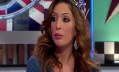 Farrah Abraham Celebrity Big Brother Fight