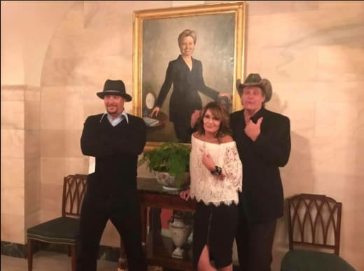 Rock, Nugent, Palin ... Clinton?