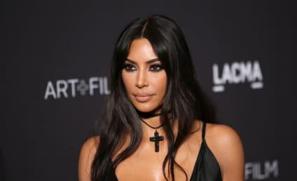 Kim Kardashian Flees Home in Face of Calabasas Wildfire
