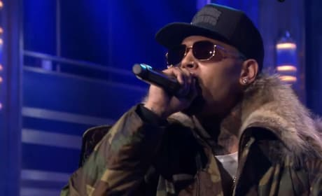 Chris Brown on The Tonight Show