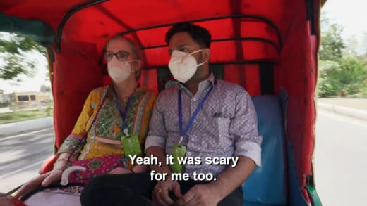 Sumit Singh - ouais, c'était effrayant pour moi aussi