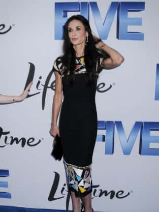 Demi Moore Premiere Photo