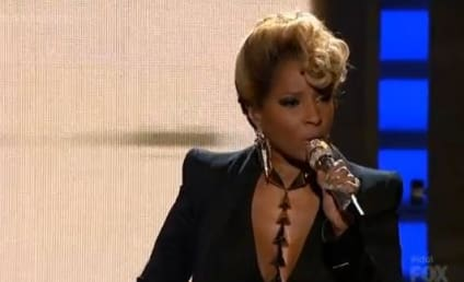 """Mary J. Blige Asks """"Why"""" on American Idol Results Show"""