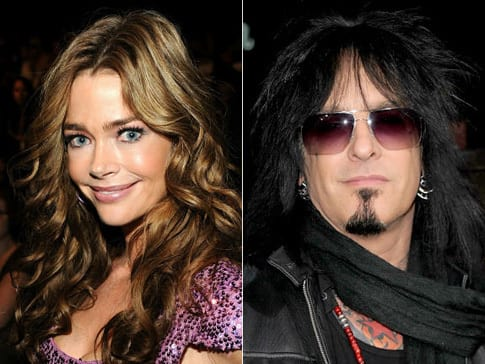 Denise Richards and Nikki Sixx