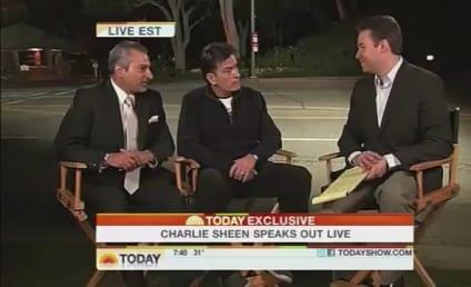 Charlie Sheen to Brooke Mueller: Where Are Our Kids?!?
