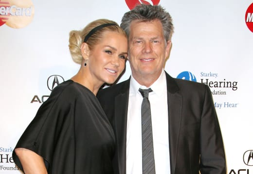 Yolanda Hadid and David Foster
