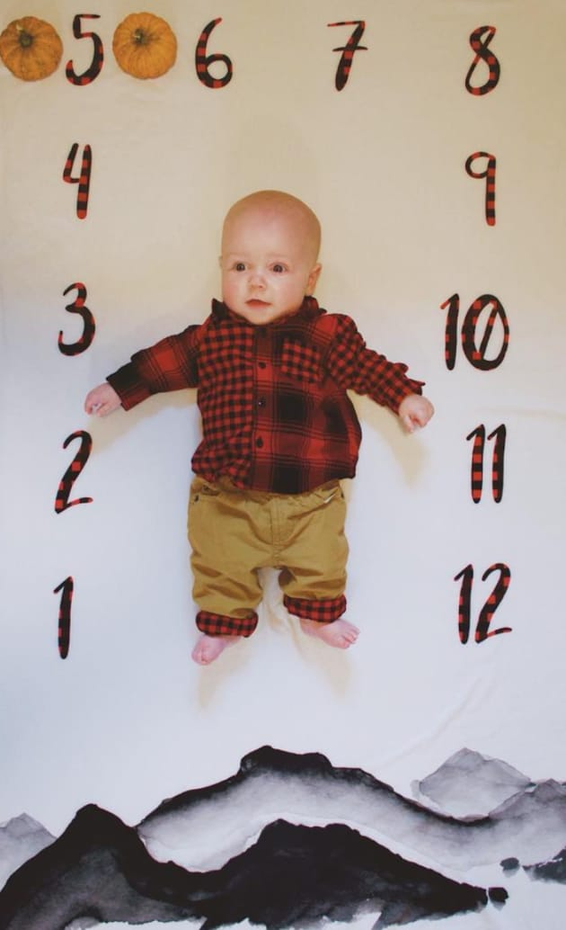 Jackson at 5 Months