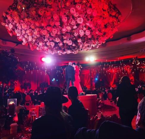 Kat Von D ceremony