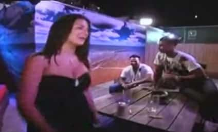 Classic Jersey Shore Clips: Grenade Horn Bails Out Situation; Ronnie Punched By Psycho Girlfriend