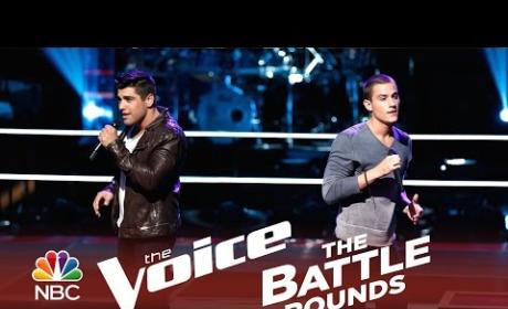 Chris Jamison vs. Jonathan Wyndham (The Voice Battle Round)