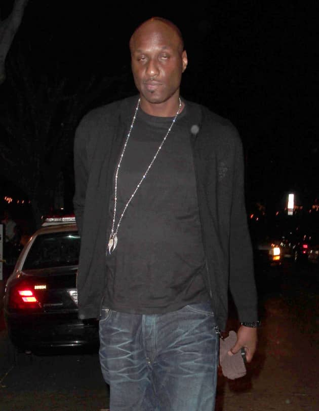 am celebrity news lamar odom multiple strokes after