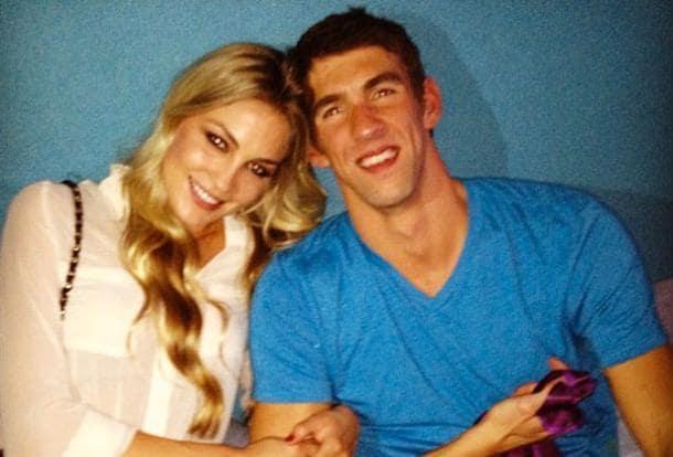 Michael Phelps, Girlfriend Megan Rossee