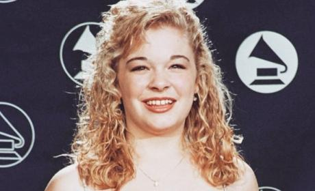 LeAnn Rimes at the Grammys, 1996